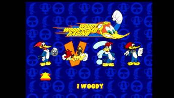 Woody Woodpecker Racing [PSX-PSP][ENG]