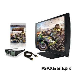 PS3D TV будет с Motorstorm 3, а не с Resistance 3