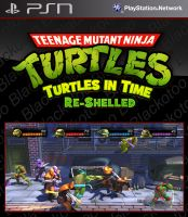 [PS3]TMNT: Turtles In Time Re-Shelled [USAENG] [FULL]