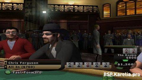 Poker psp strip
