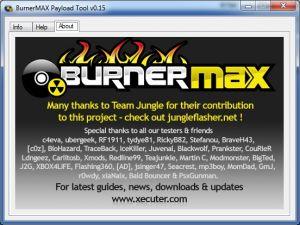 BurnerMAX v0.15 - запись XGD3 на 100% любым приводом
